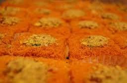 طريقة عمل الكنافة العثمانلى بالفيديو الشيف أحمد القاضى konafa recipe
