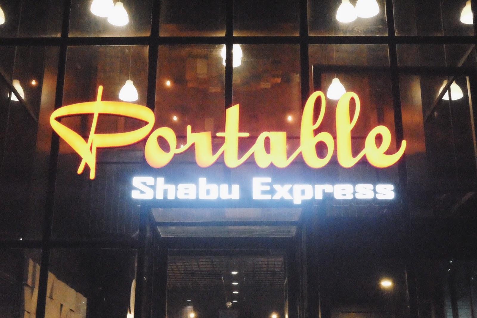 Portable Shabu Express