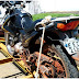Polícia Militar de Buri recupera moto roubada em Itaberá.
