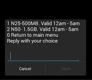 Review on Airtel Night Plan of 500mb for N25 and 1.5gb for N50