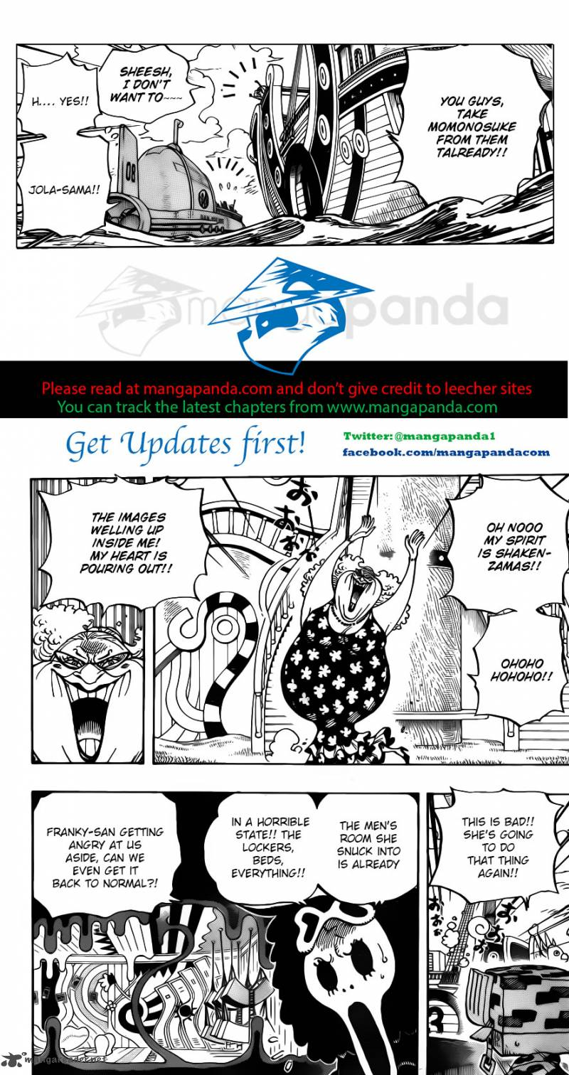 One Piece Ch 714: Lucy & Ucy