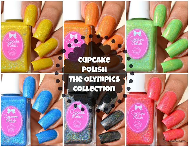 Cupcake Polish The Olympics Collection