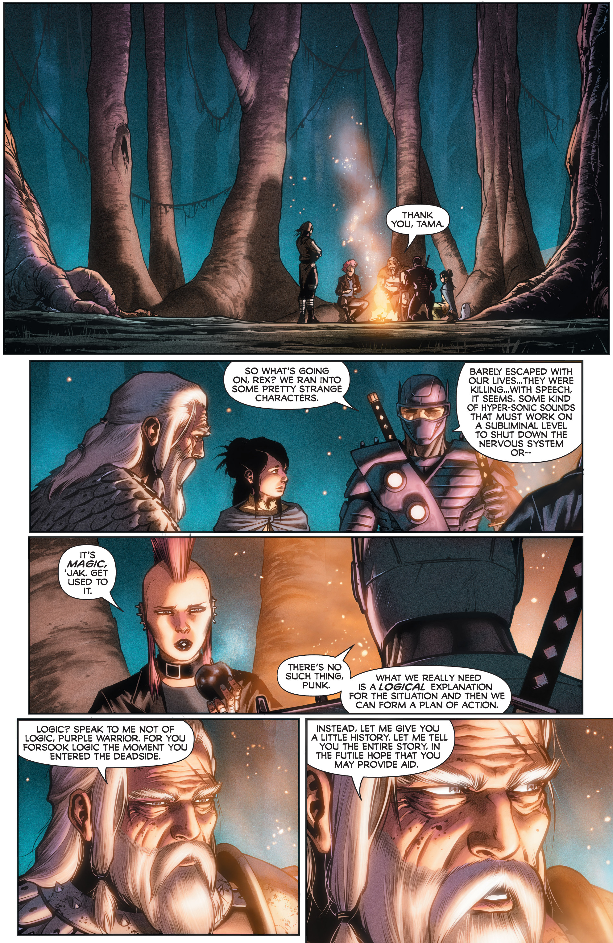 Read online Rapture comic -  Issue #2 - 7