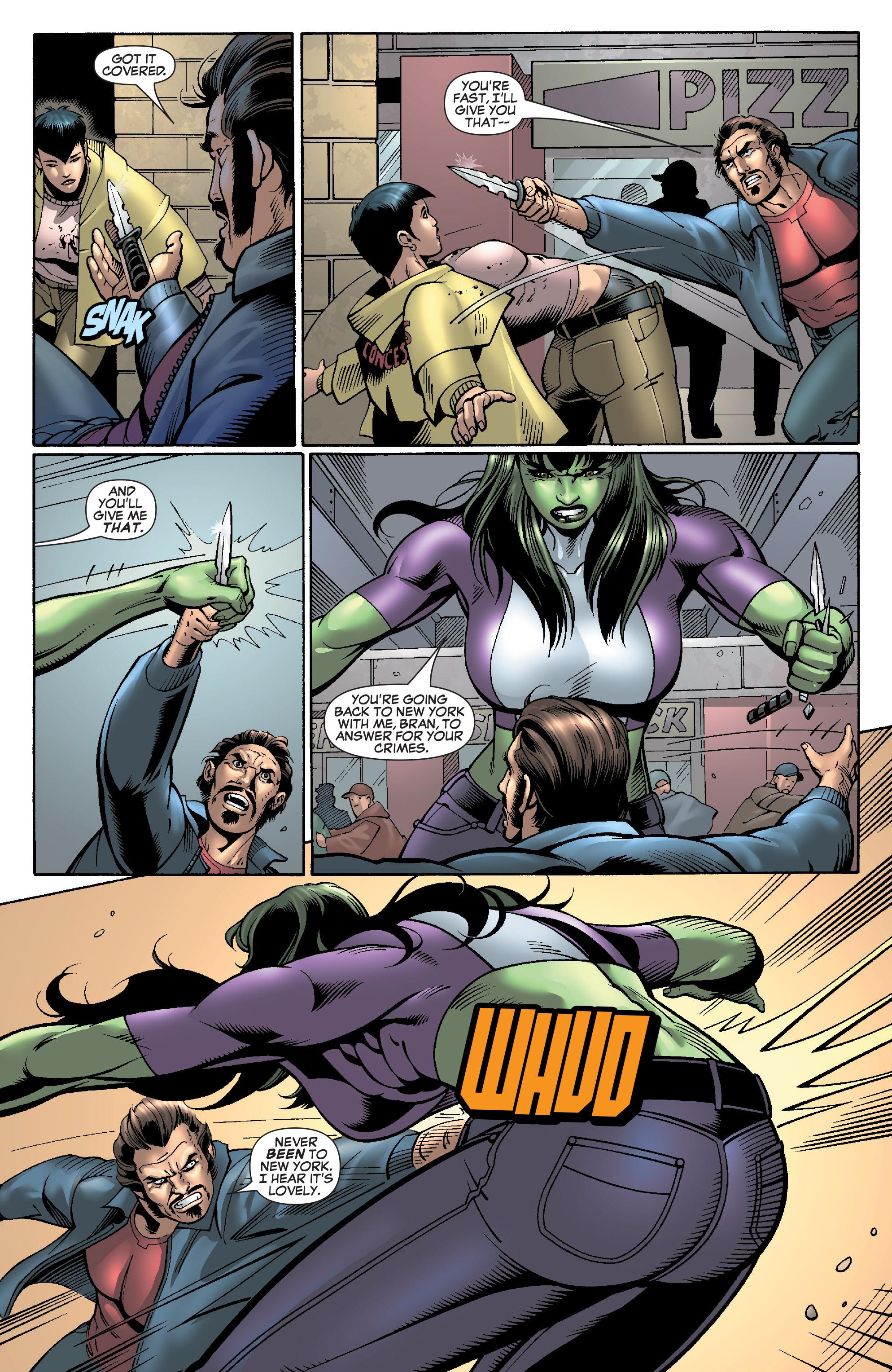 Read online She-Hulk (2005) comic -  Issue #28 - 19