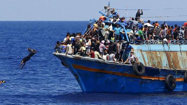 «Μια χώρα όπου αυτός που ψαρεύει παράνομα συλλαμβάνεται, αλλά αυτός που περνά τα σύνορα παράνομα όχι μόνο δεν συλλαμβάνεται, αλλά του δίνουν και επίδομα, είναι μια χώρα που κυβερνάται από ηλιθίους»….