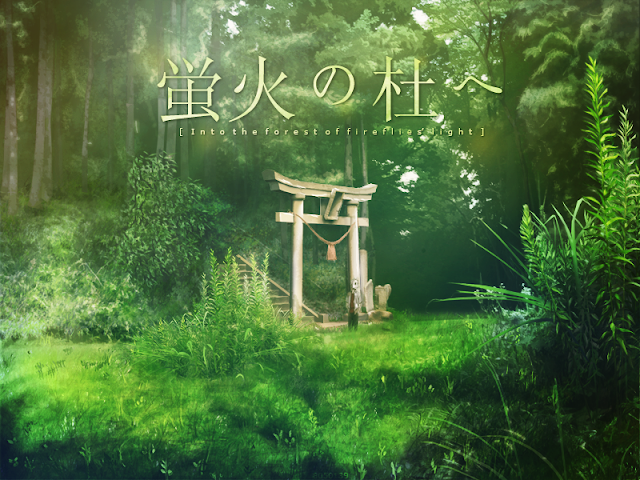 Hotarubi No Mori E (Into the Forest of Fireflies' Light) Movie Hindi and English Dubbed HD
