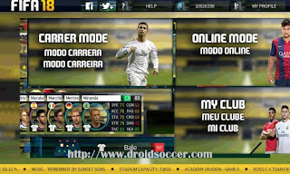 DLS 17 Mod FIFA 18