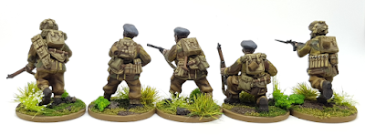 Polish Airborne WW2 Beret Warlord Games 28mm Plastic