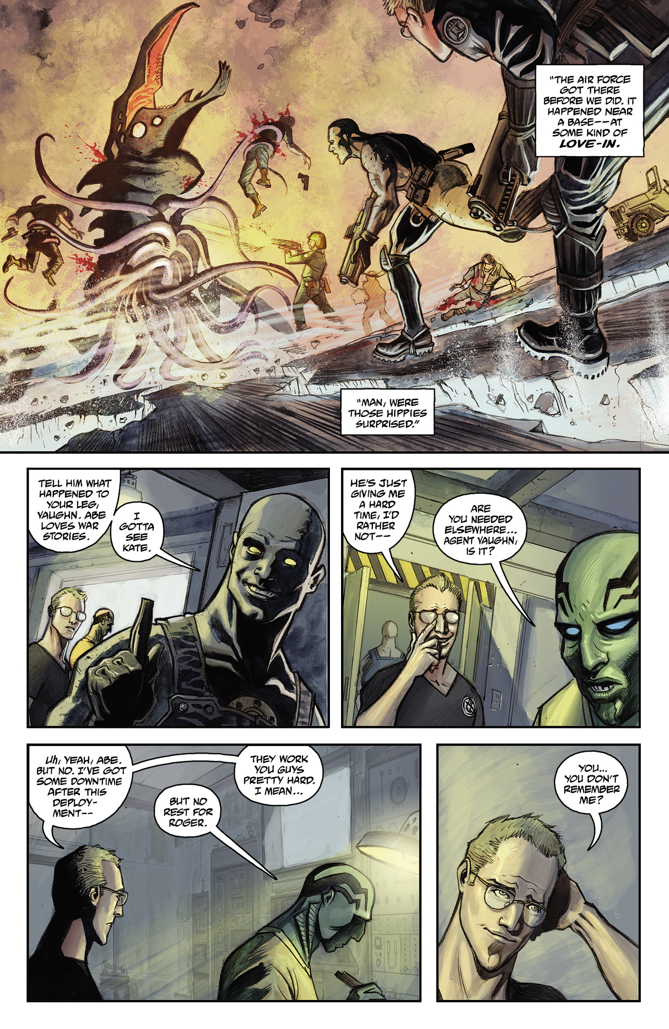 Read online Abe Sapien comic -  Issue #15 - 11