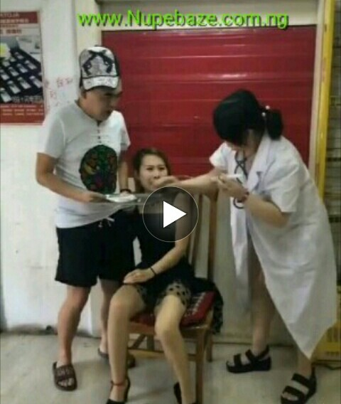 Funny chines girl scare of injection , Comedy Videos Download, Comedy Videos In NIgeria, Comedy Moviss, Africa n Comedy Movies, Funny Comedy