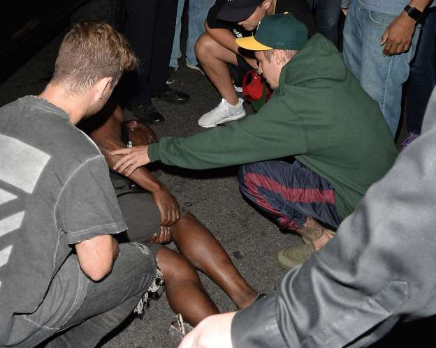 Justin Bieber Involved in Car Collision With Pedestrian After Church Service in Beverly Hills
