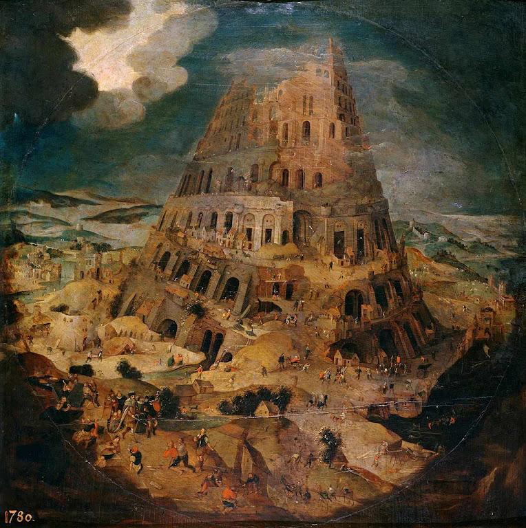 Babel, Pieter Brueghel o Jovem (1564–1636), Museo del Prado