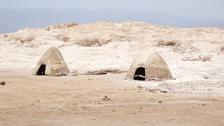 Nomand Tent in Djibouti at Lake Assal are without Aircondition