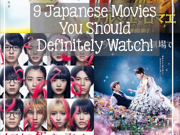 🎬 9 Japanese Movies you should definitely watch!