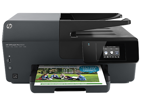 HP Officejet Pro 6830 DRIVERS LINKS