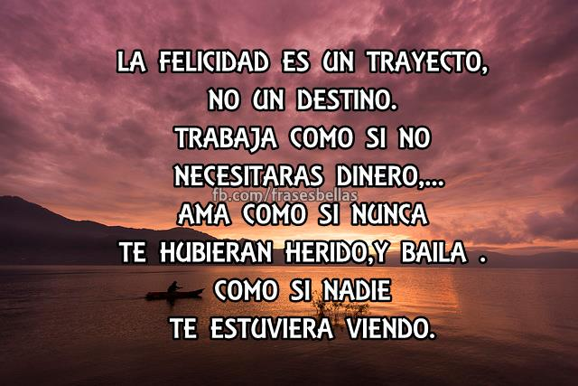 La Felicidad: Imagenes Y Frases Facebook: Frases De Felizidad
