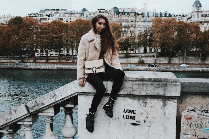 blouson mouton paris octobre 2017 blogueuse mode