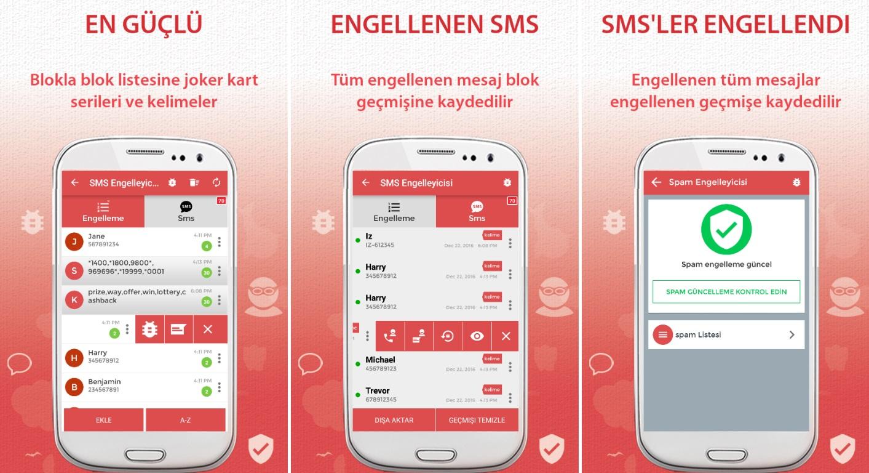 İstenmeyen SMS Reklamlarını Engelleme