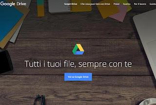 Sito Google Drive