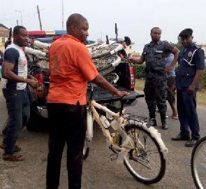 NPP executives impound YEA bicycles