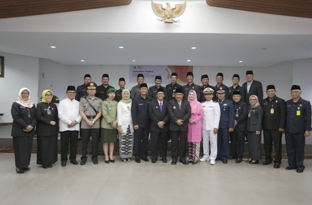 Inilah 18 Pejabat Pimpinan Tinggi Pratama di Lingkungan Pemkot Bandung