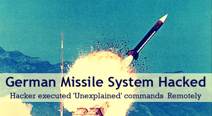German Missile System Hacked; 'Unexplained' Commands Executed Remotely