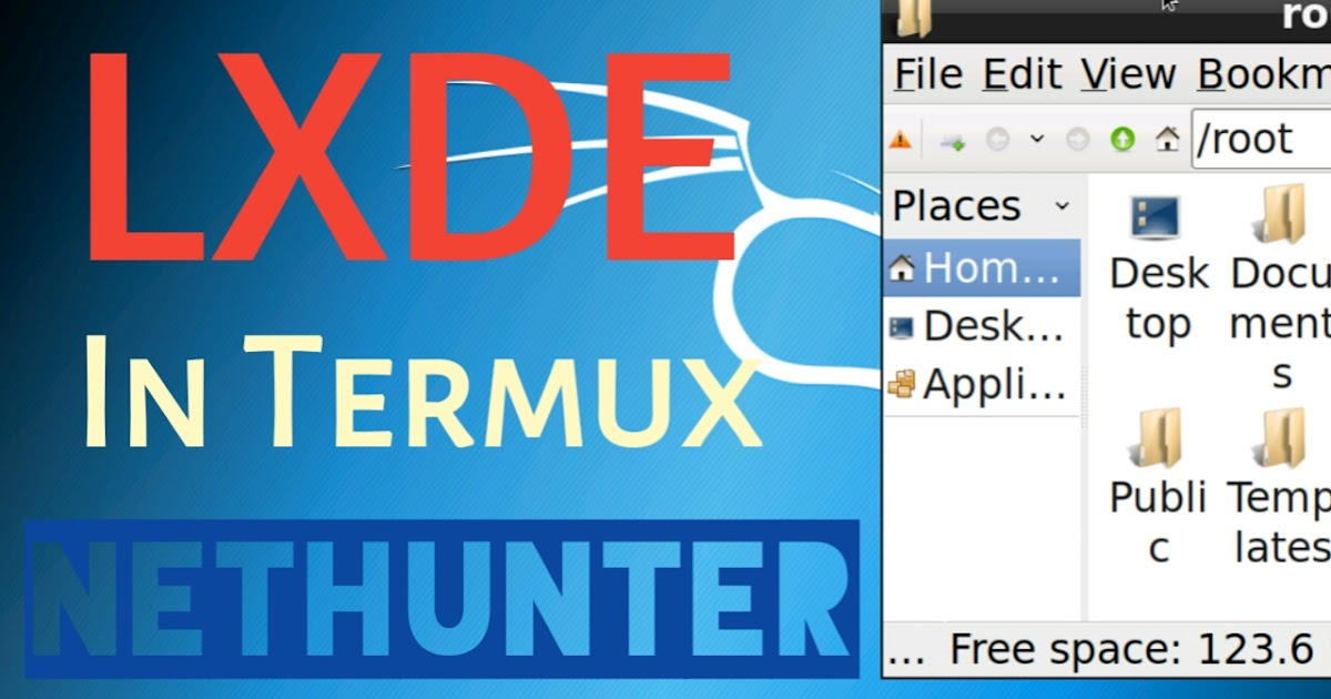 How To Install LXDE In Kali Nethunter Of Termux Without Root
