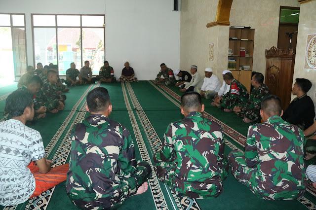 Satgas Pamtas RI-Malaysia Kunjungi Tokoh Agama di Garut