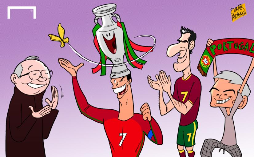 Omar Momani Cartoons Euro 2016