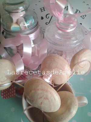 piruleta, merengue, san valentín