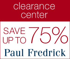 Paul Fredrick menswear discounts