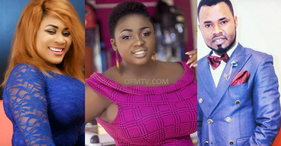 Tracey Boakye And Nayas Fight Over Gospel Singer Ernest Opoku Because He was a romantic and very good in bed