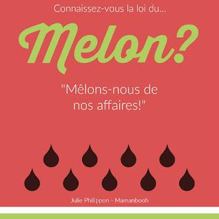 La loi du melon, version Facebook - crédit Julie Philippon