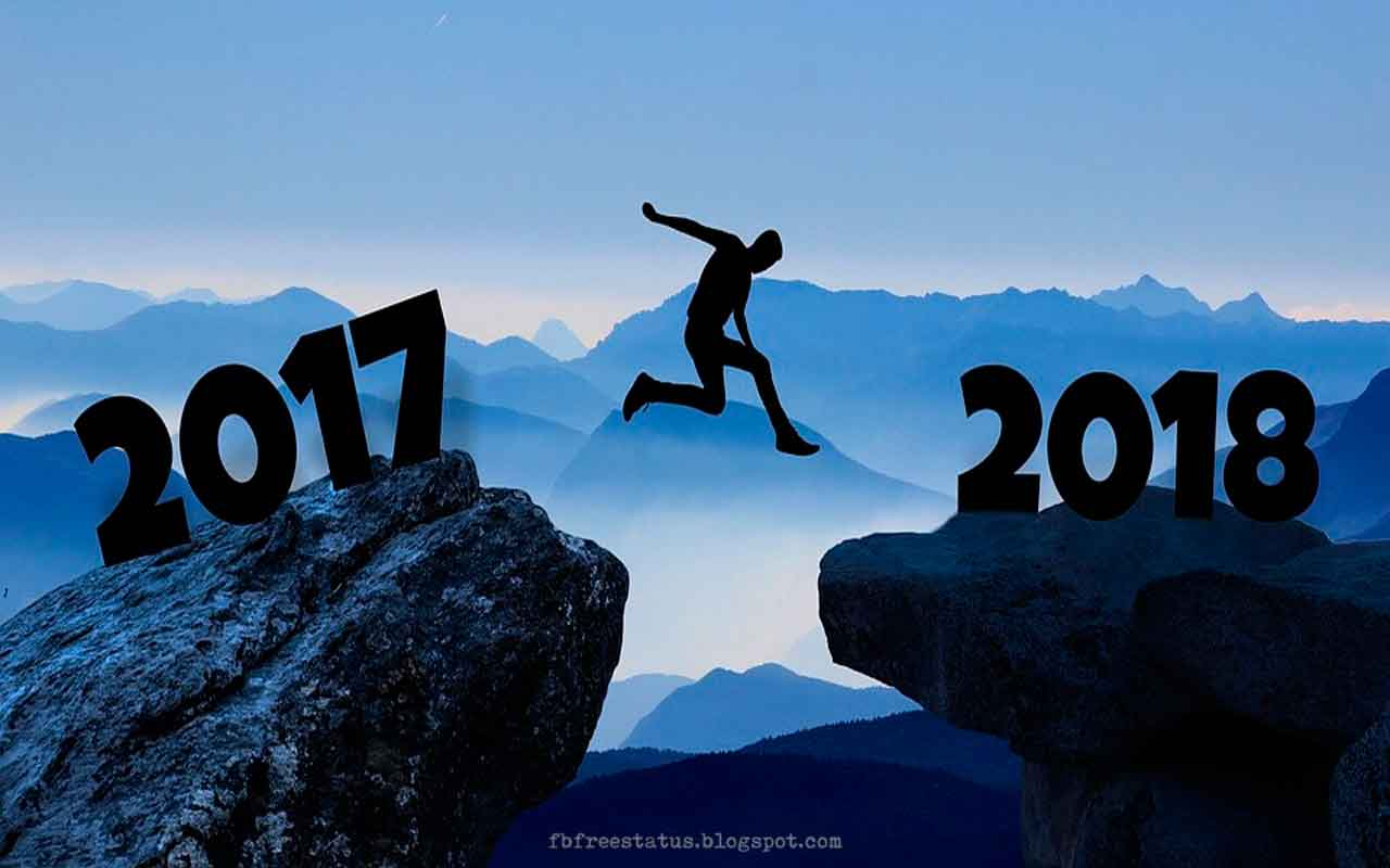Happy New Year 2018 Images, Pictures with New Year Motivational Quotes.