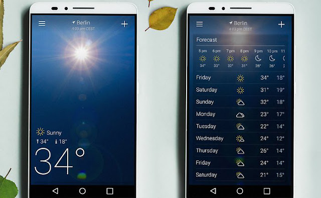 9 Aplikasi Cuaca dan Widget Terbaik  untuk Android. 9