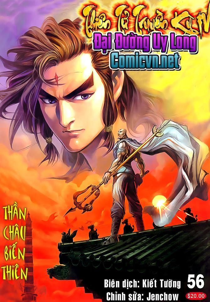 Đại Đường Uy Long chapter 56 trang 1