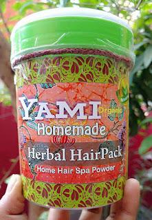 YAMI HERBALS HAIR PACK