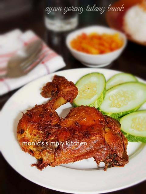 Ayam Goreng Presto : goreng, presto, Goreng, Tulang, Lunak, Sambal, Mangga, Monic's, Simply, Kitchen
