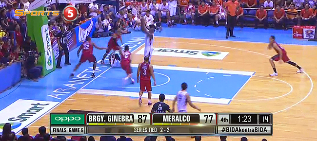 HIGHLIGHTS: Ginebra vs. Meralco (VIDEO) October 16 - Finals Game 5