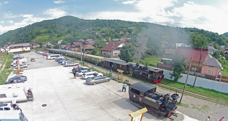 Gara Vișeul de Sus, traseul mocănitei