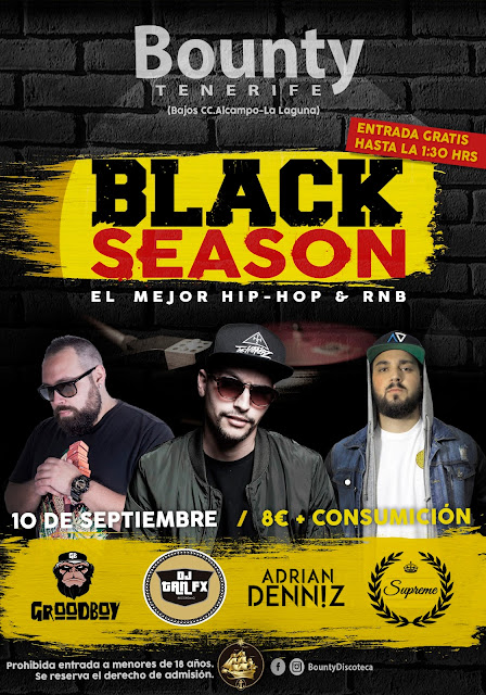 BLACK SEASON @ Discoteca Bounty - 10.09.2016