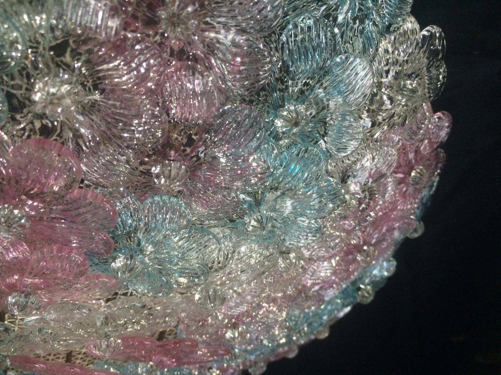 Plafoniere In Vetro Di Murano : Ca venier plafoniera luci in vetro di murano amazon
