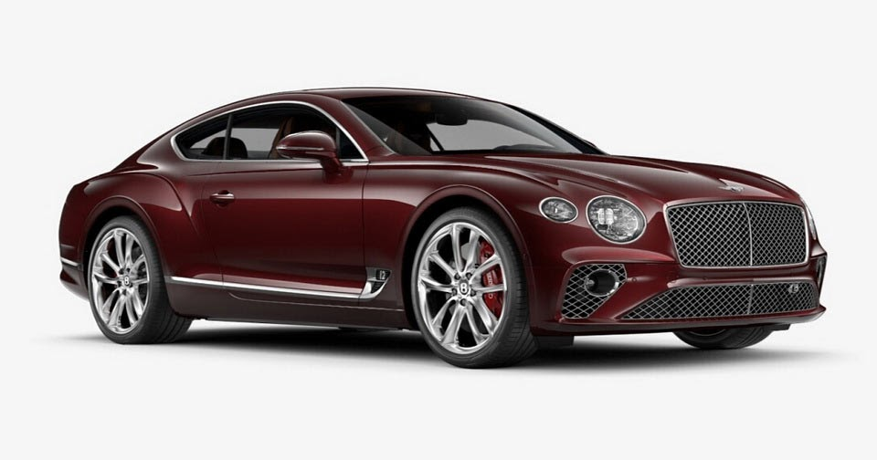 Create Your Own 2018 Continental Gt With Bentley S