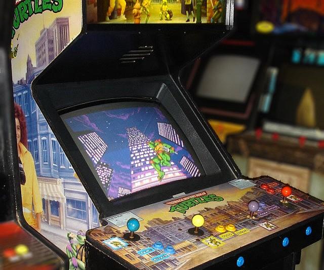 tmnt arcade machine