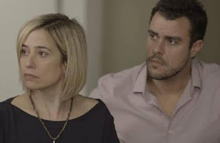 Joaquim e Lígia. Foto – Globo.