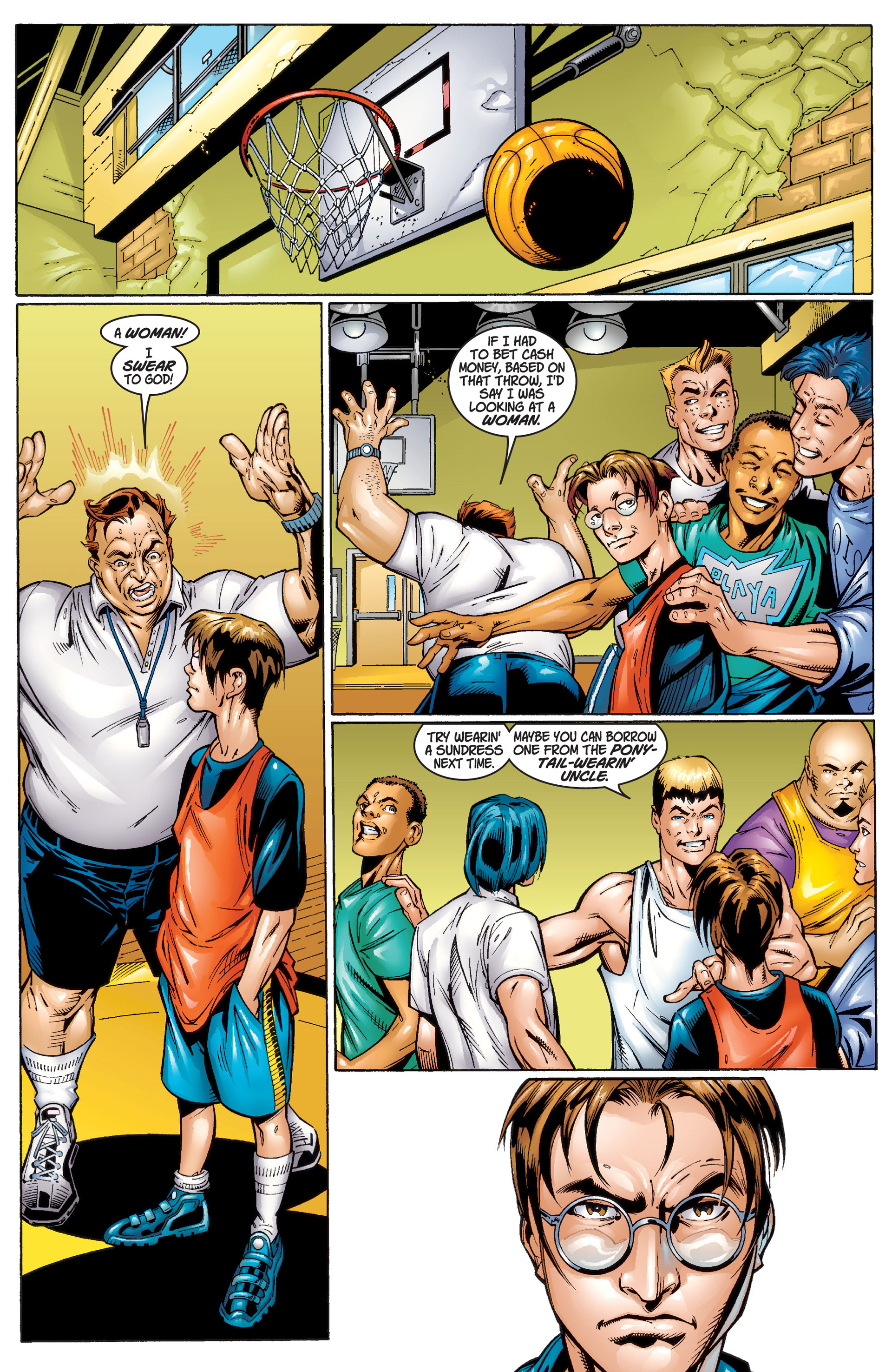 Read online Ultimate Spider-Man (2000) comic -  Issue #1 - 14