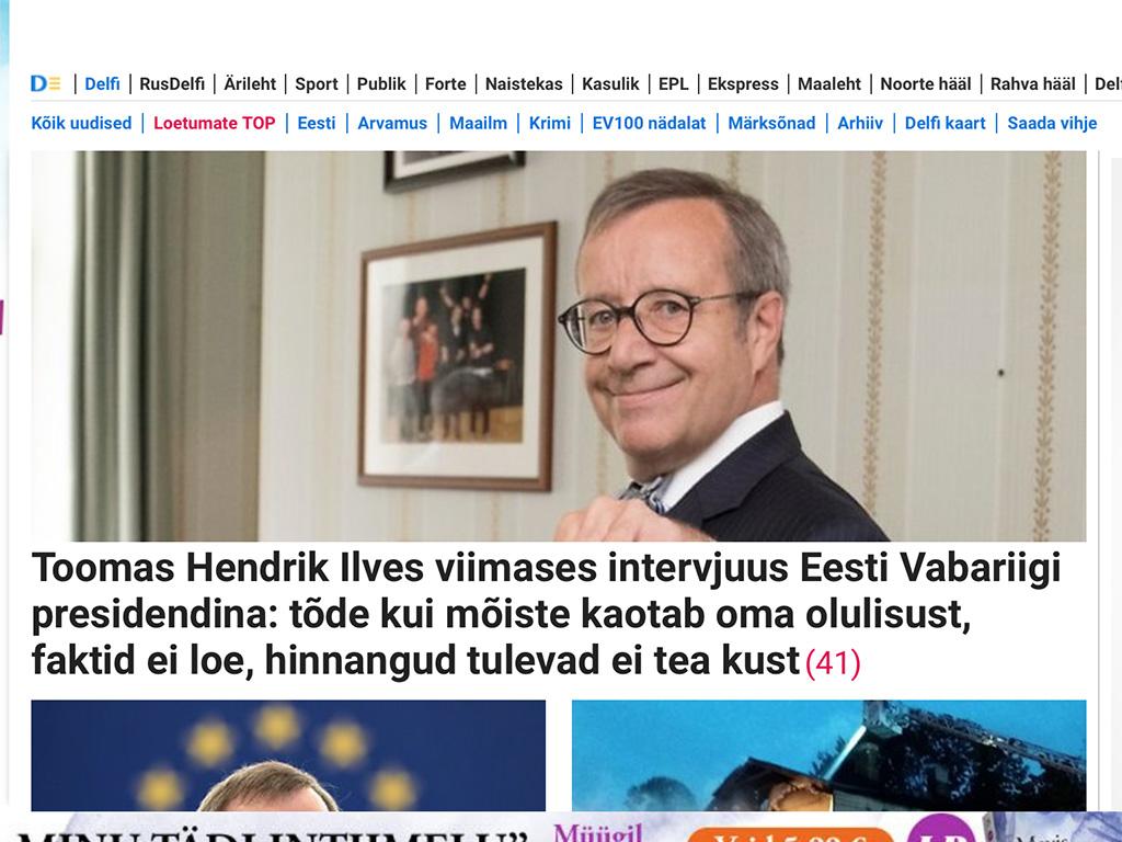 348faf859c0 Inno ja Irja kohvik: Tegelikult oli Ilves parem president kui praegune