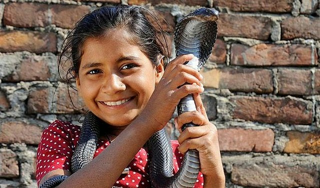 Indian Snake Girl
