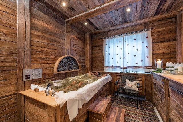 bagni di fieno