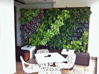 Taman vertikal (vertical garden)